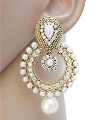designer earrings jewels alloy party wear designer earring set for