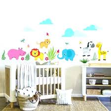 stickers savane chambre bébé stickers chambre garcon beautiful stickers savane chambre bebe