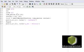 matlab tutorial solving first 1st order differential equation