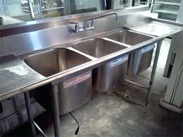 3 bay stainless steel sink 3 bay sink compartment kitchen or triple basin used commercial bar