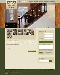 hanson home works inc general contractor website developed by