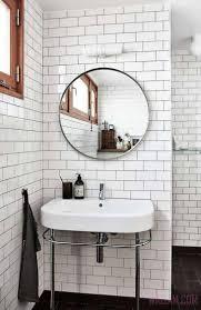 bathroom mirrors wood framed bathroom mirrors wood wall mirror