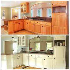 Best  Cabinet Transformations Ideas On Pinterest Refinished - Transform your kitchen cabinets