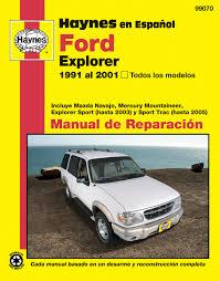 ford explorer haynes manual de reparación todos los modelos ford