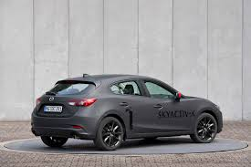 mazda germany 2019 mazda 3 to adopt torsion beam rear suspension for refinement
