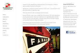 web bureau howard county farm bureau keir web design