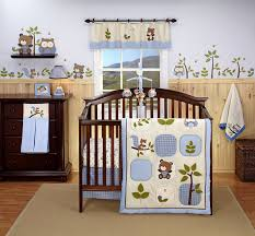 Boy Owl Crib Bedding Sets Eddie Bauer Owl Creek 4 Crib Bedding Set