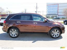 2011 ionized bronze metallic acura mdx advance 63450477 photo 2