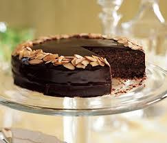 double chocolate financier cake recipe epicurious com