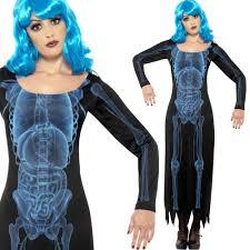 mens ladies x ray skeleton costume u2013 couples halloween fancy dress