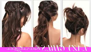 Easy Hairstyle For Girls by Step By Step Hairstyles For Teenage Girls Hairstyle Picture Magz