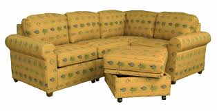 Yellow Sectional Sofa Yellow Sectional Sofa With Gray Pattern Having Back And Arm Rest