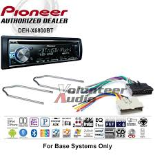 pioneer car stereo radio bluetooth cd player dash install mount