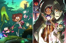 disney channel greenlights amphibia and the owl house