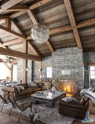 rustic interior created by lighthaus studio using 3ds max and