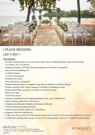 wedding package by meliá bali indonesia bridestory com