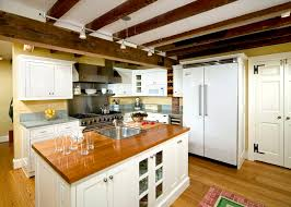 lighting on exposed beams wire track lighting kitchen traditional with exposed beams track
