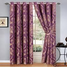 damask curtains wayfair co uk