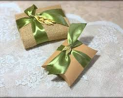 olive favors burlap wedding favor etsy