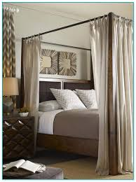 Wood Canopy Bed Wood Canopy Bed Design Decoration