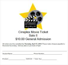 doc 600180 movie theater ticket template u2013 make your own movie