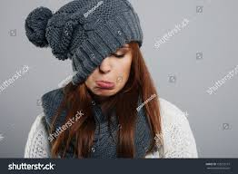does not like winter stock photo 158722157