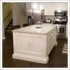 kitchen island outlets reader project diy kitchen island build basic