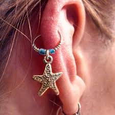 best cartilage earrings best starfish cartilage earring products on wanelo
