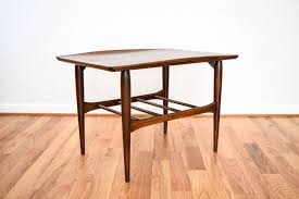 mid century side table modern end table beautiful mid