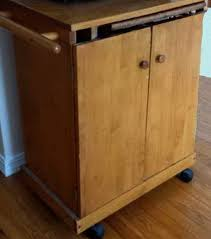 kitchen island microwave diy turn a common microwave cart into a vintage kitchen island