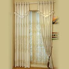 ready made cotton curtains have embroidery crafts