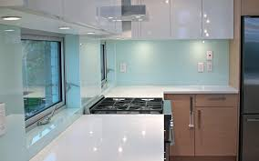 kitchen magnificent kitchen glass backsplash for blue kitchen