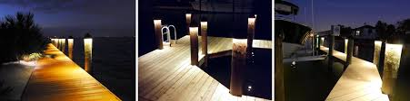 solar led dock lights led dock lighting for boat docks and pilings synergy lighting