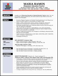 Resumes Examples For Teachers by Fashionable Ideas Elementary Teacher Resume Examples 4 17 Best