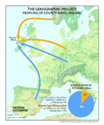 Haplogroup World Map by The Genographic Project Returns To Ireland To Reveal Dna Results