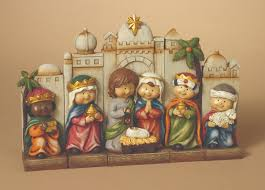 home accessories figure centennial nativity sets for
