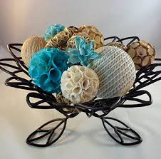 Vase Fillers Balls Decorative Wood Bowl And Ocean Mist Vase Filler Potpourri With