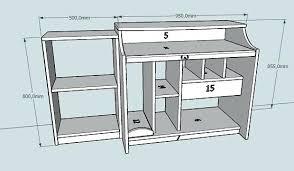 plan pour fabriquer un bureau en bois plan de bureau en bois bureau bois design photos of 10 plan