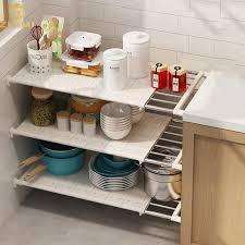 sink kitchen cabinet organizer foldable multifunctional cabinet organization adjustable kitchen drying rack sink storage holder shelf buy sink kitchen rack adjustable