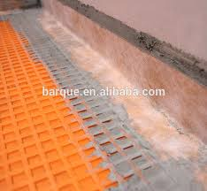uncoupling membrane used for waterproof flooring underlayment