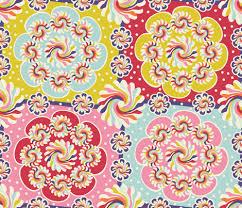 mandala quilt fabric cassiopee spoonflower