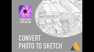 affinity photo ipad u2014 convert any photo to pencil sketch youtube