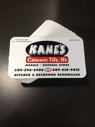 kane u0027s ceramic tile business cards coastal sign u0026 design llc