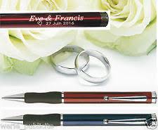 stylo personnalisã mariage livres d or et stylos pour le mariage ebay