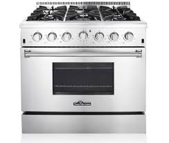 36 Downdraft Gas Cooktop Thor Kitchen Stoves Professional Stainless Steel Ranges And Hoods