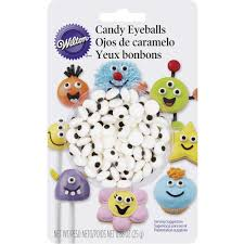full size candy bars halloween candy eyeballs wilton