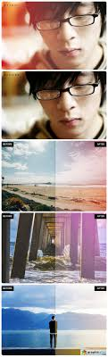 light leak photoshop action actions pattern styles free download vector stock image