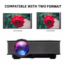 wireless home theater projector aliexpress com buy original excelvan uc46 portable mini led