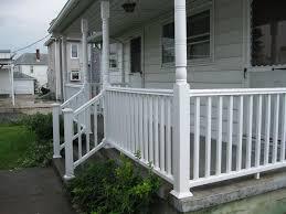 home porch white creative porch railing color ideas for small patio design