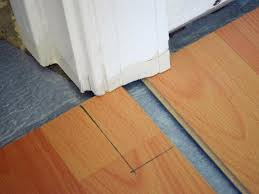 Laminate Flooring Door Jamb How To Install A Laminate Floor How Tos Diy